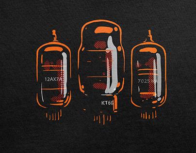 Obsolete vacuum tube illustrations