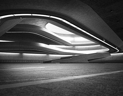 car park - CG architecture