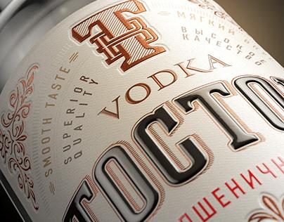 TOSTOV vodka