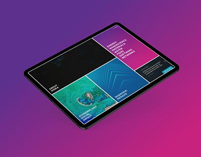 IMDEA Institute · Web Design