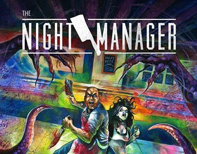 The Night Manager Book Jacket Design