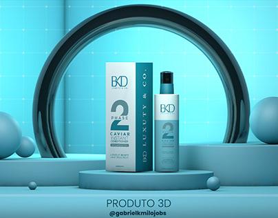 PackShot de Produto 3d