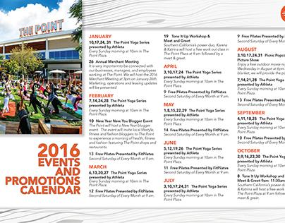 The Point 2016 Marketing Calendar