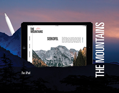 The Mountains: for iPad