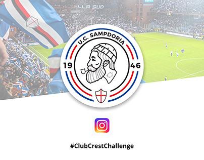 #ClubCrestChallenge - Sampdoria