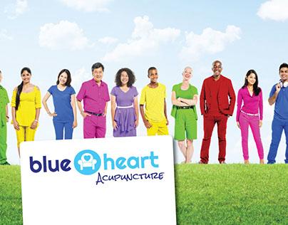 Logo Design - Blue Heart Acupuncture