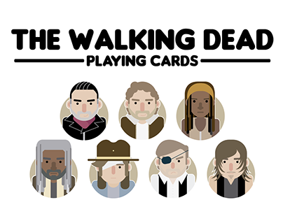 The Walking Dead - Playing Cards