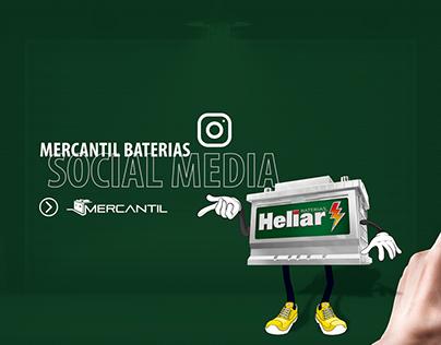 Social Media - (Mercantil Baterias)