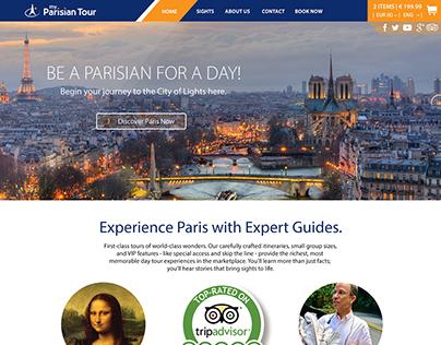 City Wonders: My Parisian Tour (MPT) Web App circa 2014