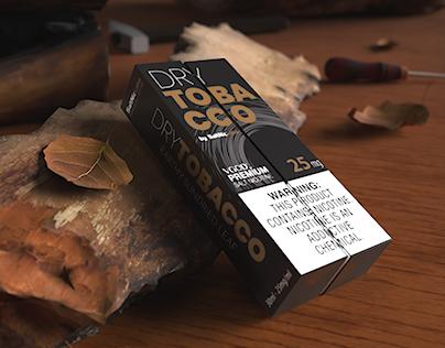 SaltNic E-Juice DRY Tobacco