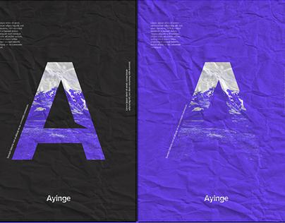 Ayinge - Brand Identity