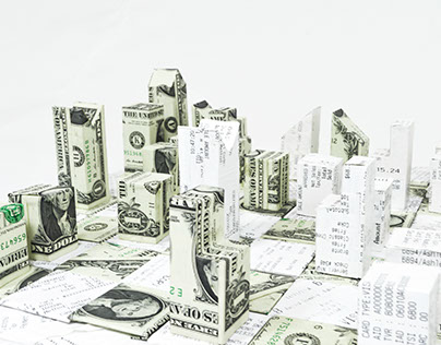 Money vs Receipts Chess Board