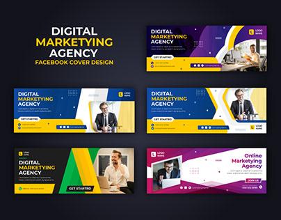 Digital Marketing Agency Facebook Cover Banner
