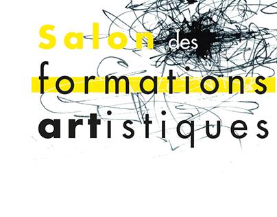Différents supports - Salon des formations artistiques