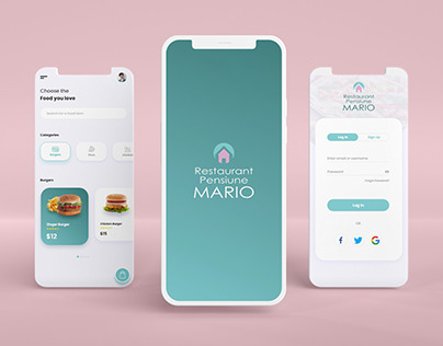 Mario Restaurant App (Test/Learning Project)