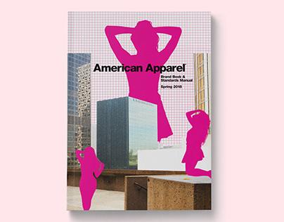 American Apparel Brand Book & Standards Manual