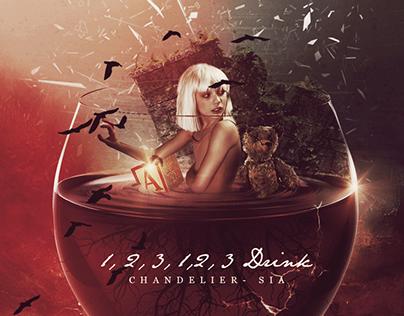 Chandelier - SIA (Album Cover Fanart)