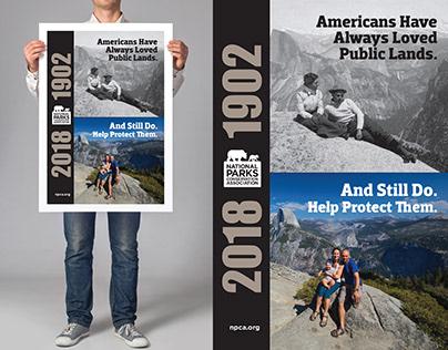 NPCA Bus Shelter Poster