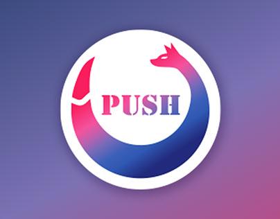 PUSH: Logo and branding