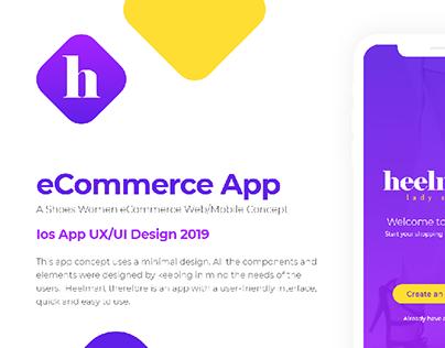 Heelmart - eCommerce App UX/UI