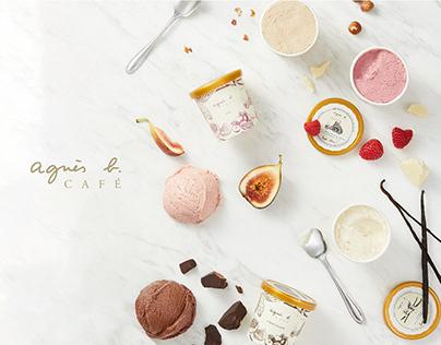 HAPPY b. Ice cream