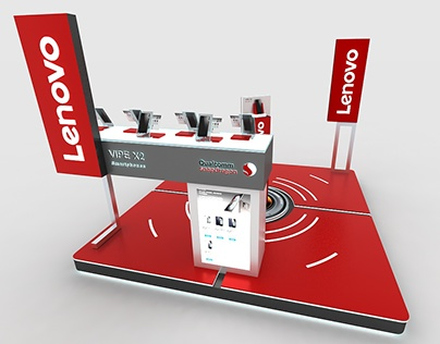 LENOVO PROMOTIONAL STAND