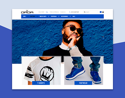 DADA - Online men's clothing store