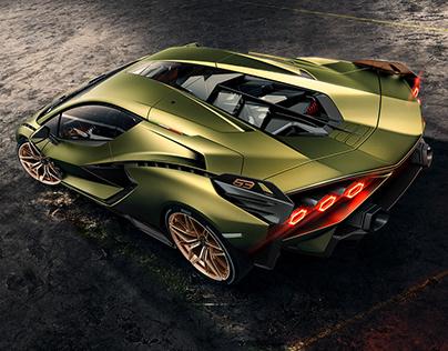 Lamborghini Sián FKP 37 Coupé | Full CGI