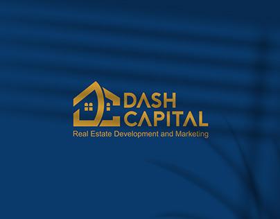 Real Estate Logo & Branding DASH CAPITAL Logo