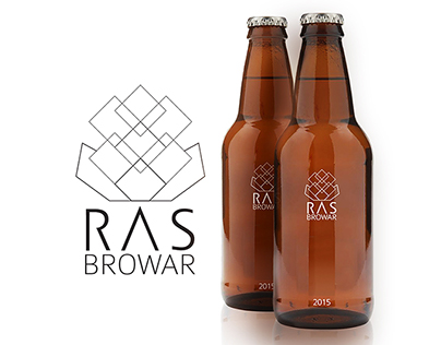 RAS_Browar - beer logo design