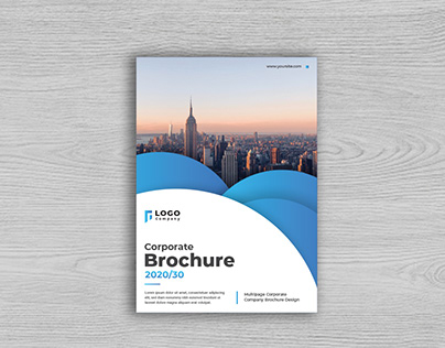 Creative Business Brochure Layout Template