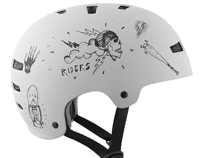 """TSG """"sketch"""" Summer Helmet"""