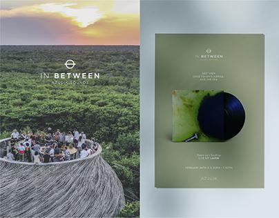Conceptualization & Branding | IN BETWEEN: Weekly event