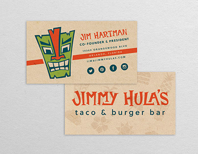 Jimmy Hula's Rebranding