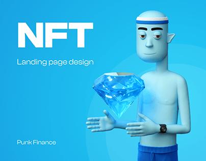 NFT Landing Page PunkFinance