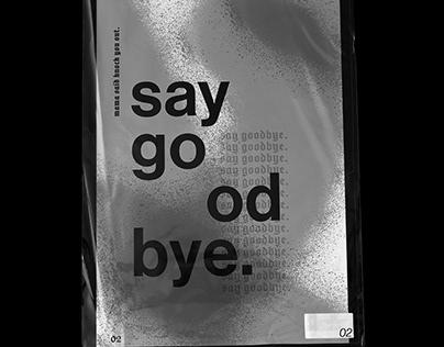 Mama, said goodbye.