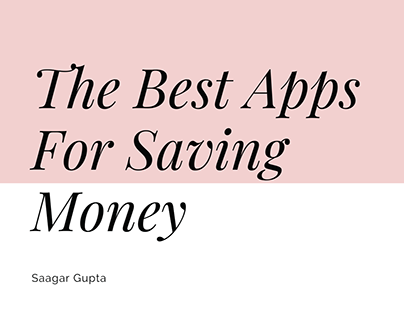 The Best Apps For Saving Money