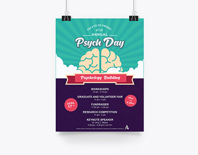 PSYCH DAY 2019 Fundraising Design