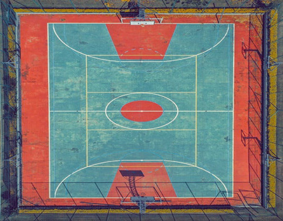 Top View of the Court