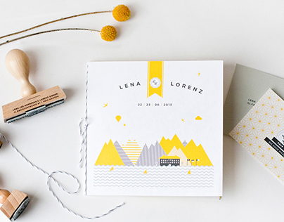 Lena & Lorenz: Wedding Stationary