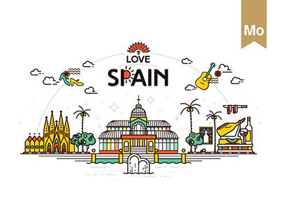 LOVE SPAIN