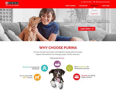 Purina Website