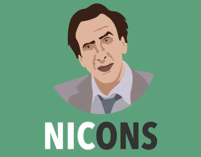 NICONS -Nicholas Cage Icons. Vol 1