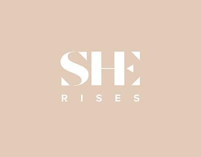 SHE Rises Branding