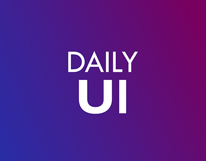 Daily UI Elements   Free Download