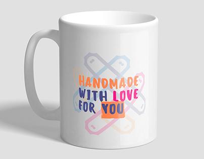 HandMade With Love For YOU - Logo Design