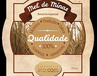 Rótulo de cachaça/Cachaça label