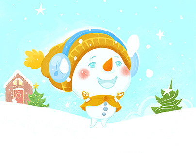 Little Snowman and Happy Winter