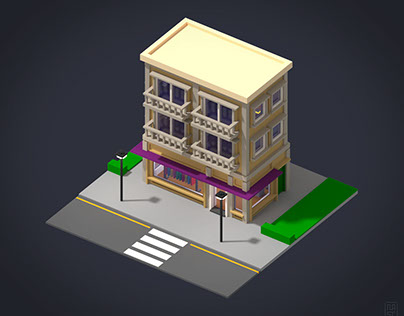 Voxel building