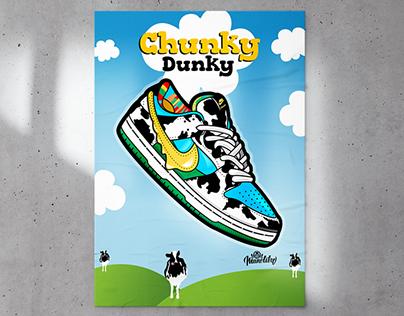 Chunky Dunky Illustration